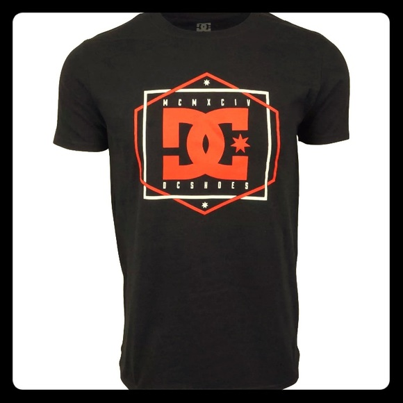 DC Shoes City Camo Tee Mens Black T-Shirt New NWT